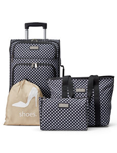 Jessica Simpson 4-pc. Gingham Fashion Luggage Set