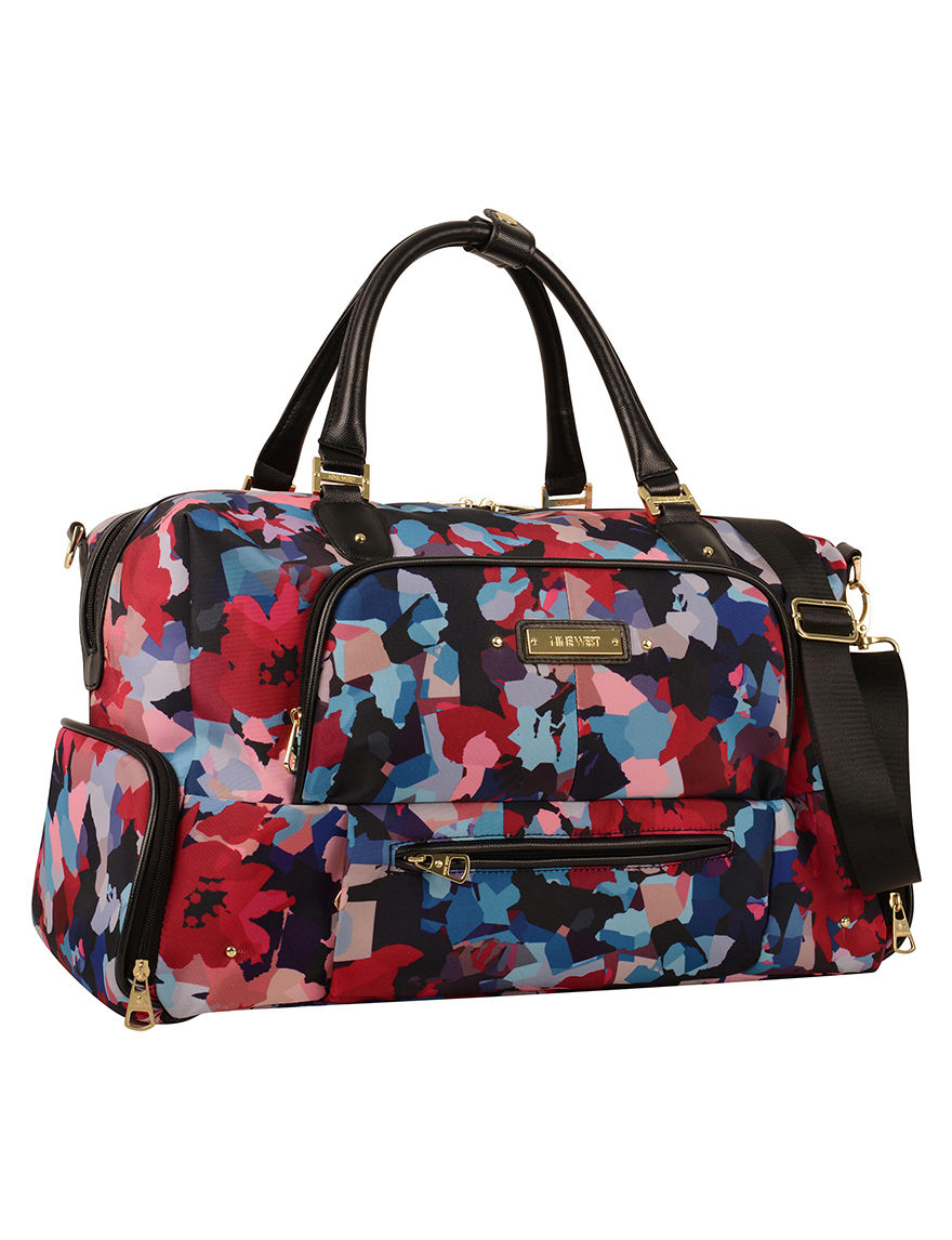 Nine West Floral Luggage Sets Weekend Bags