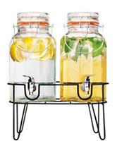 Home Essentials 1 Gallon Twin Beverage Server