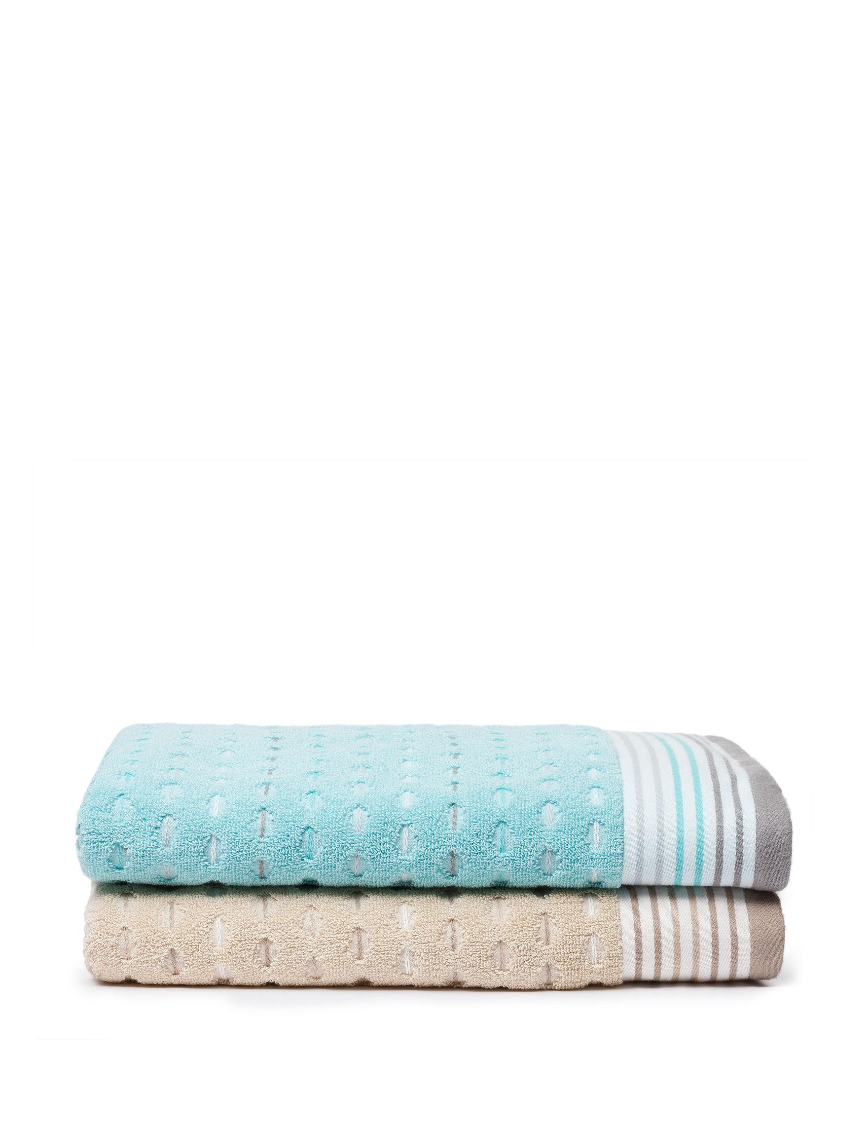 Great Hotels Collection Aqua Bath Towels Towels
