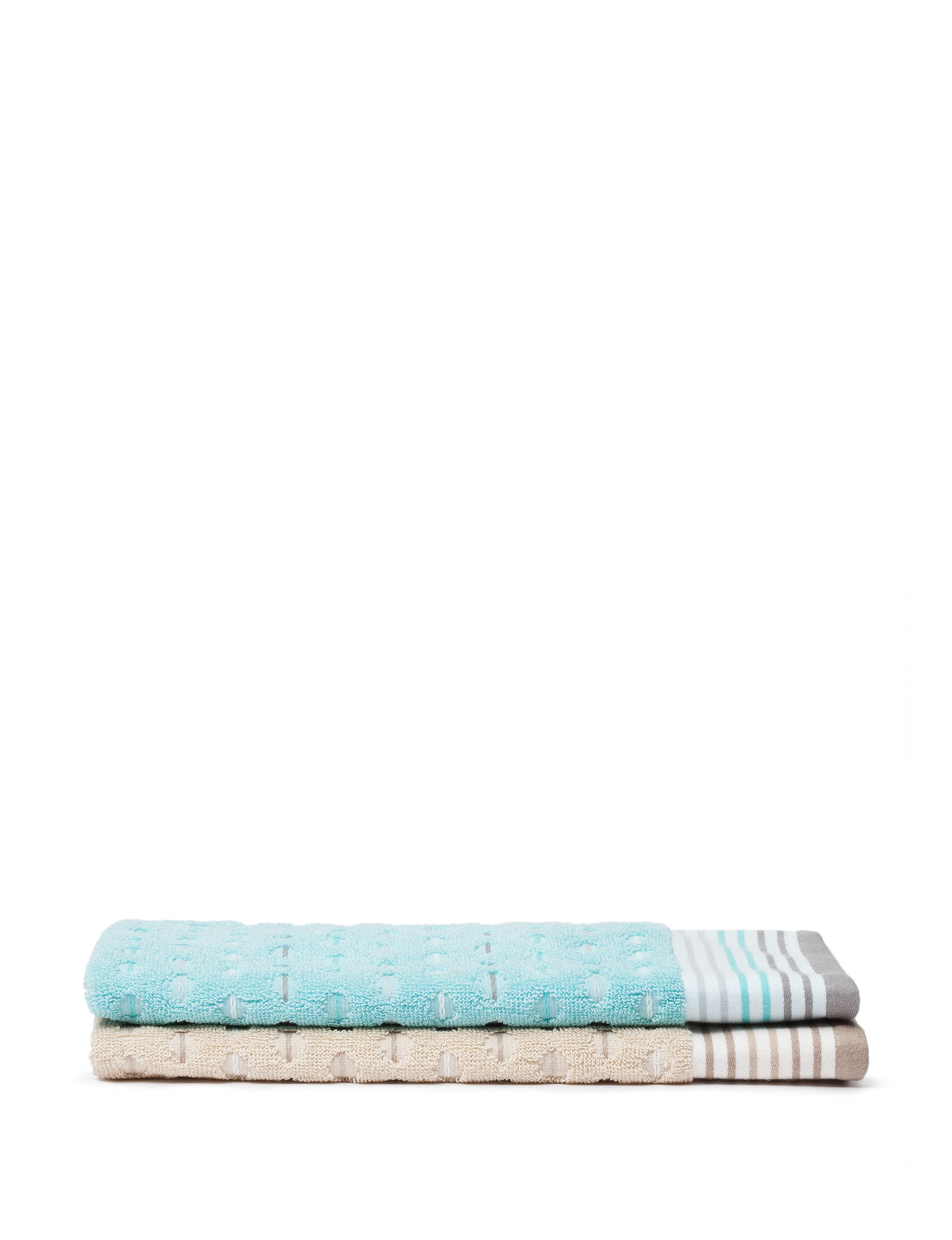 Great Hotels Collection Aqua Hand Towels Towels