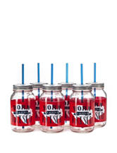 Formation 6-pk. Born & Raised Mason Jars