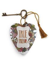 True Friends Heart Art Sculpture
