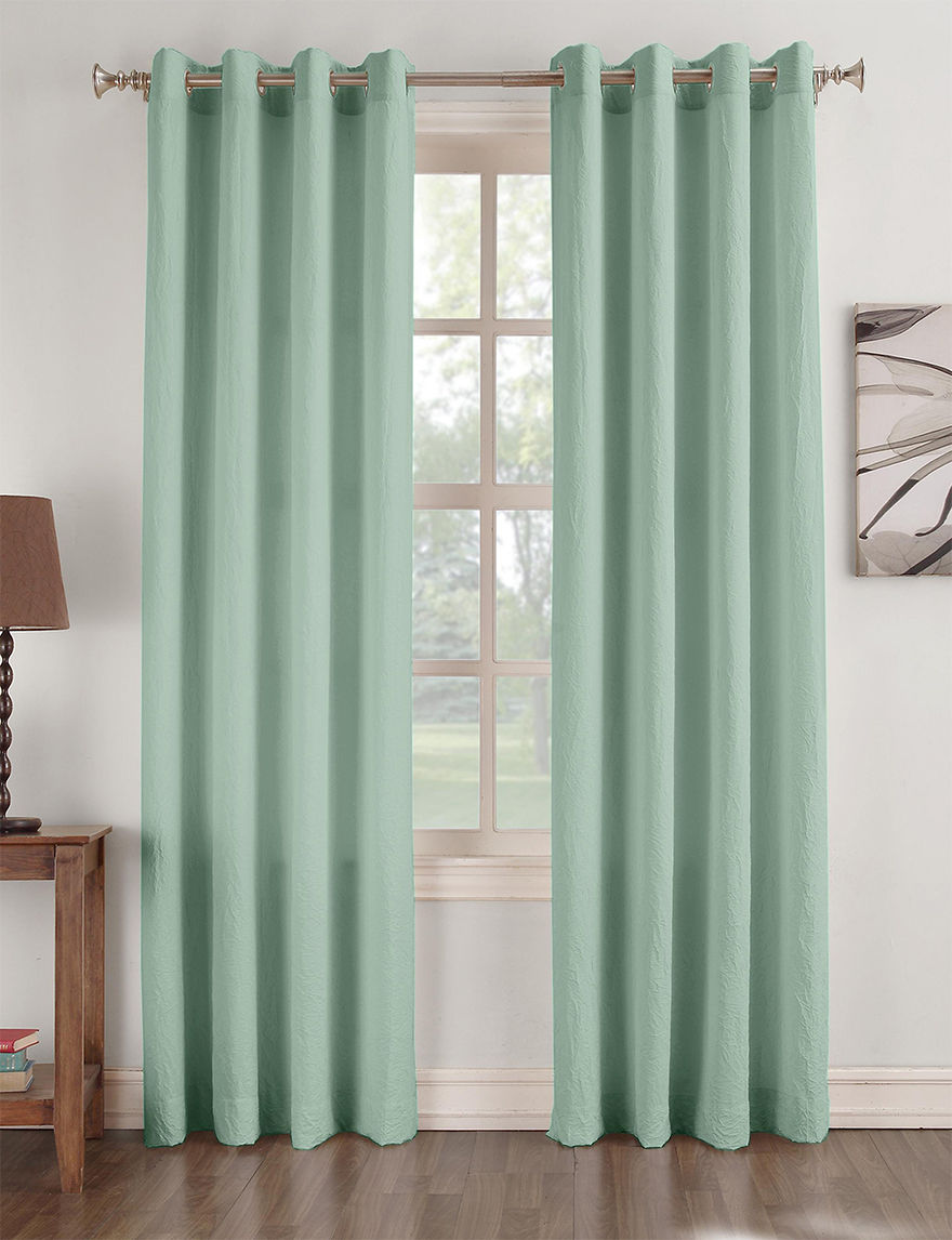 Lichtenberg Aqua Curtains & Drapes