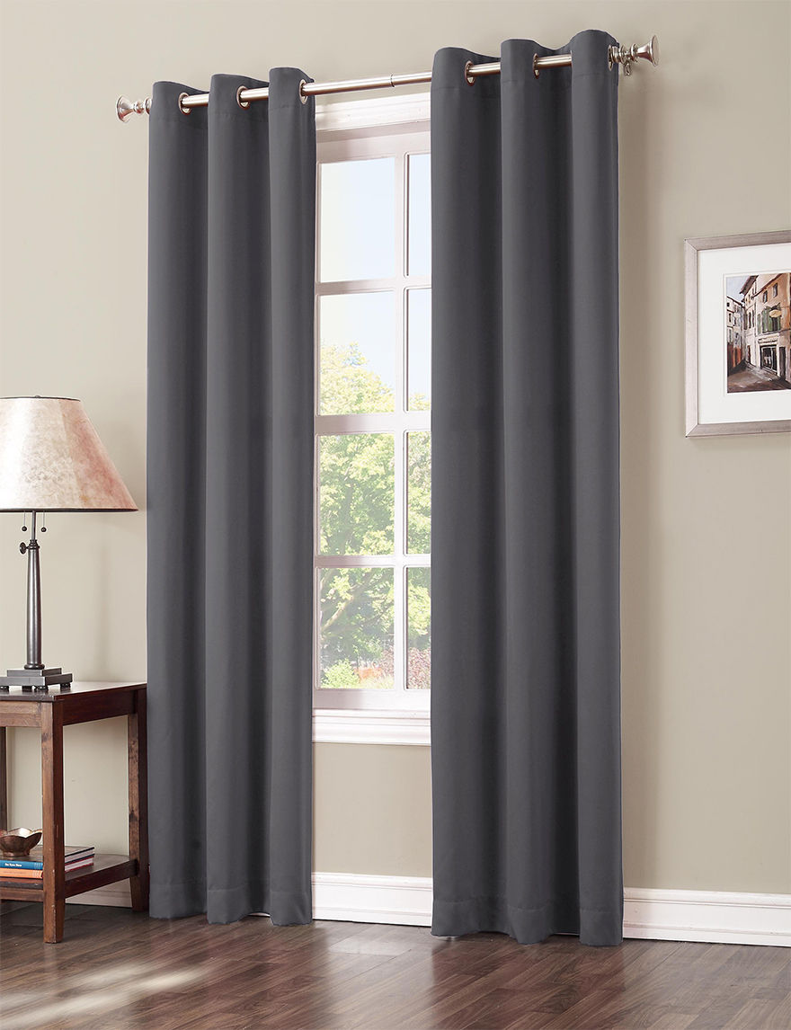 Lichtenberg Charcoal Curtains & Drapes