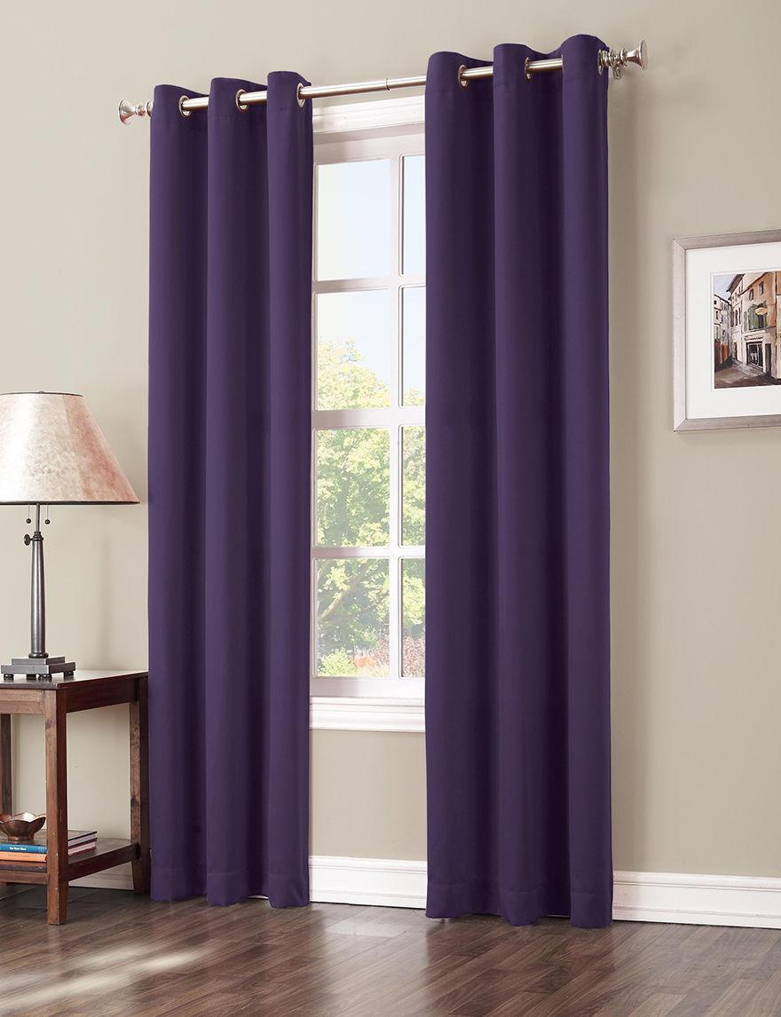Lichtenberg Blackberry Curtains & Drapes Window Treatments