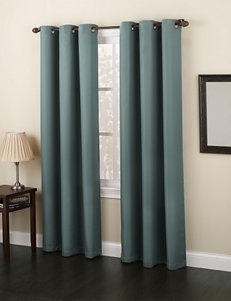 Lichtenberg Teal Curtains & Drapes Window Treatments