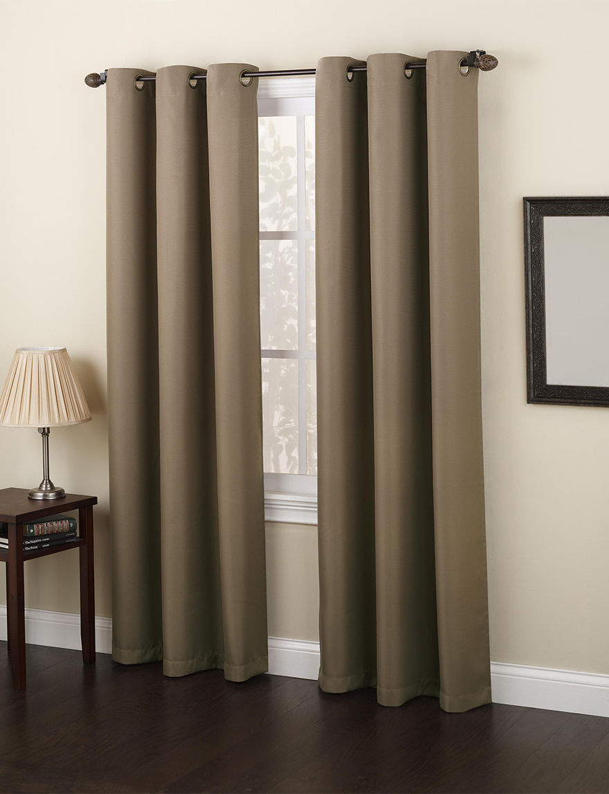 Lichtenberg Mocha Curtains & Drapes