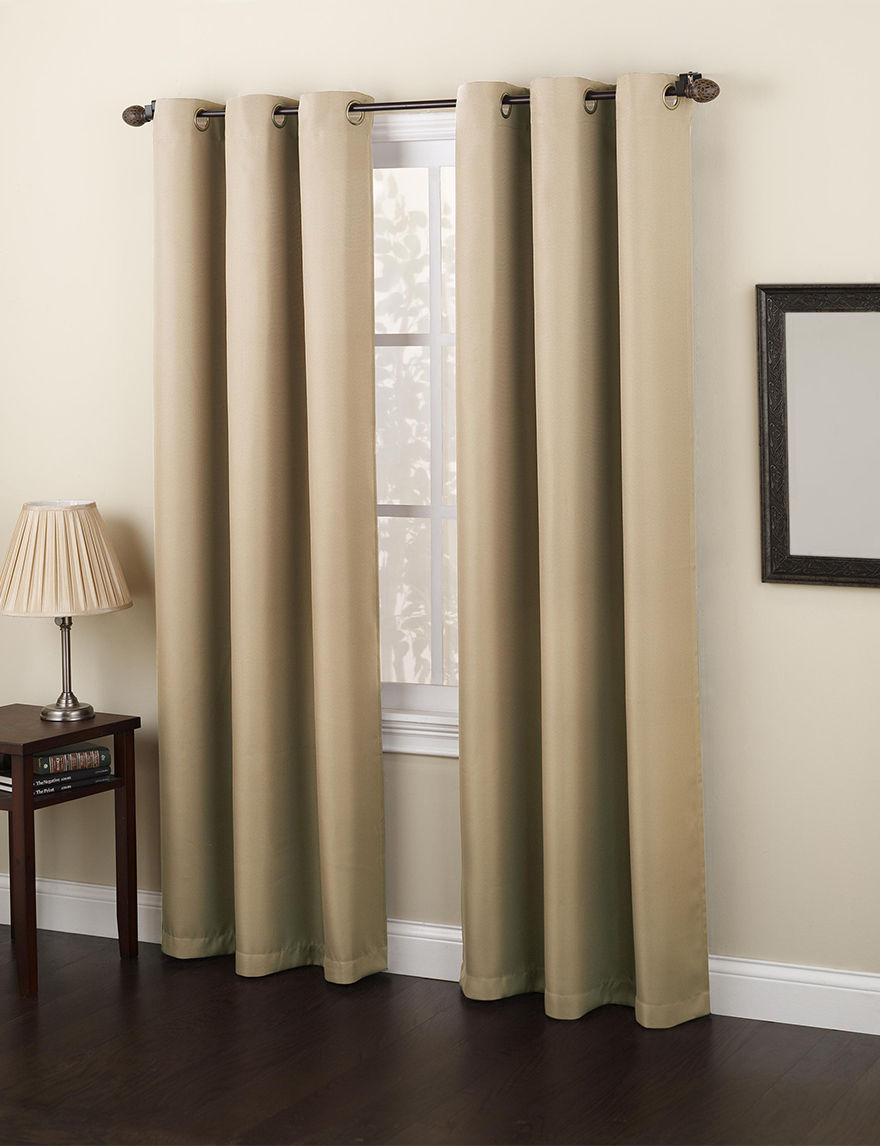 Lichtenberg Taupe Curtains & Drapes