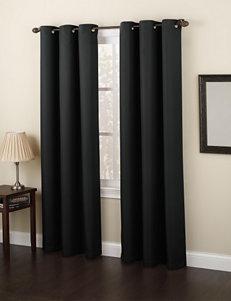 Lichtenberg Black Curtains & Drapes Window Treatments