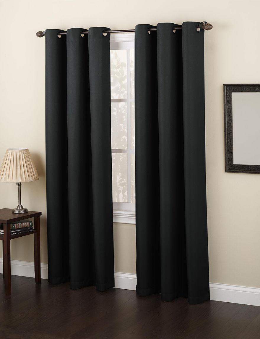Lichtenberg Black Curtains & Drapes