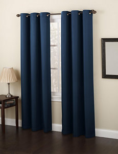 Lichtenberg Navy Curtains & Drapes Window Treatments