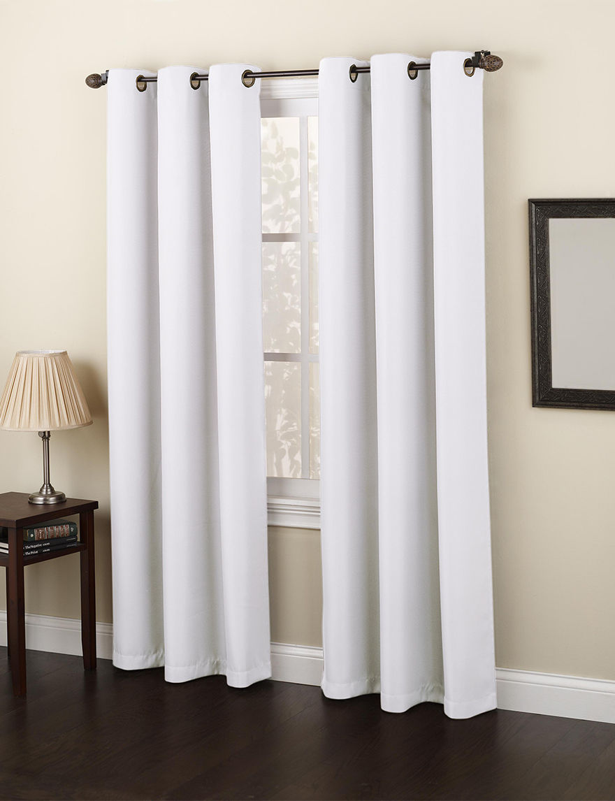 Lichtenberg White Curtains & Drapes