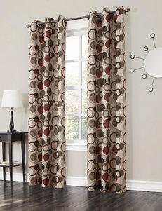 Lichtenberg Paprika Curtains & Drapes Window Treatments