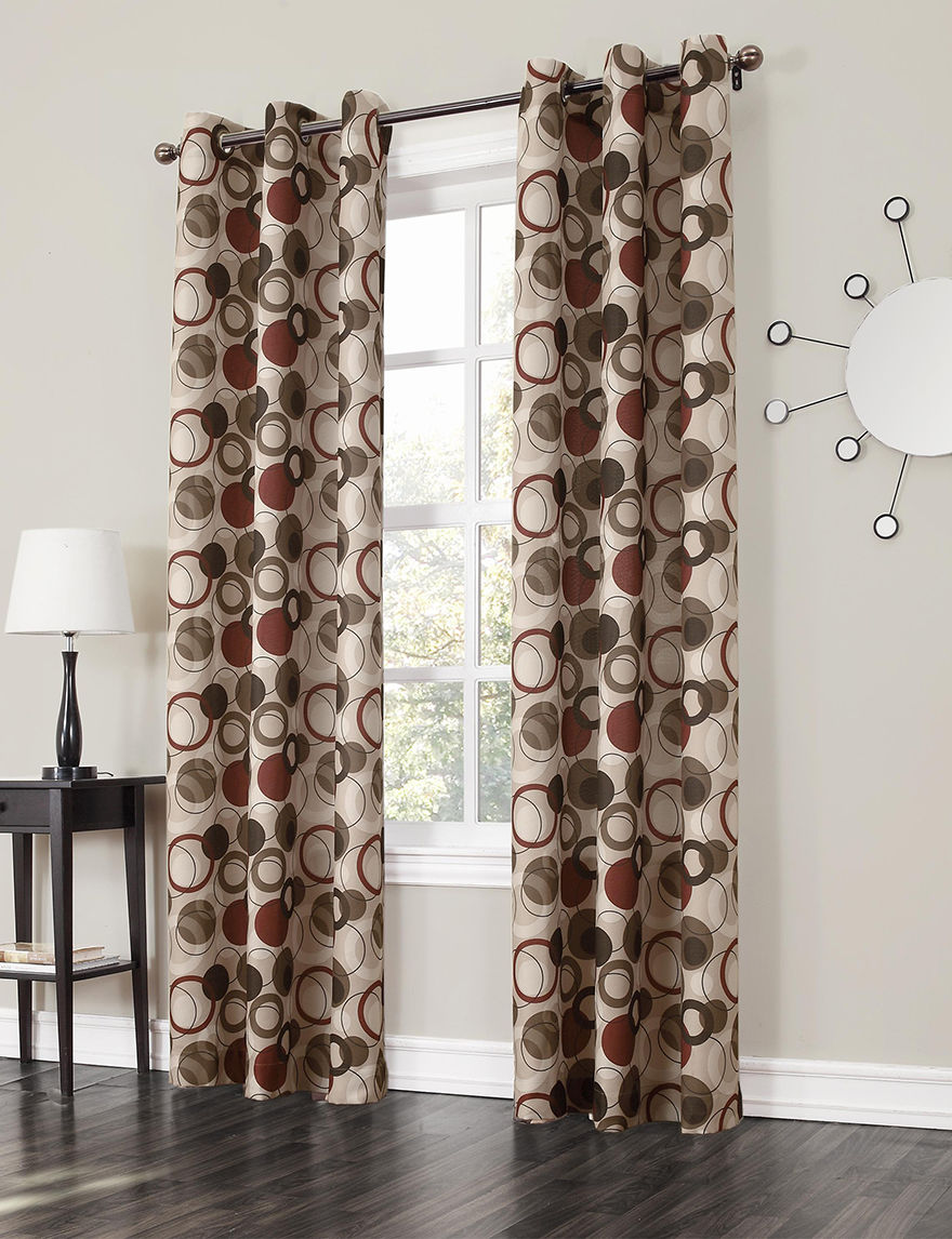 Lichtenberg Paprika Curtains & Drapes