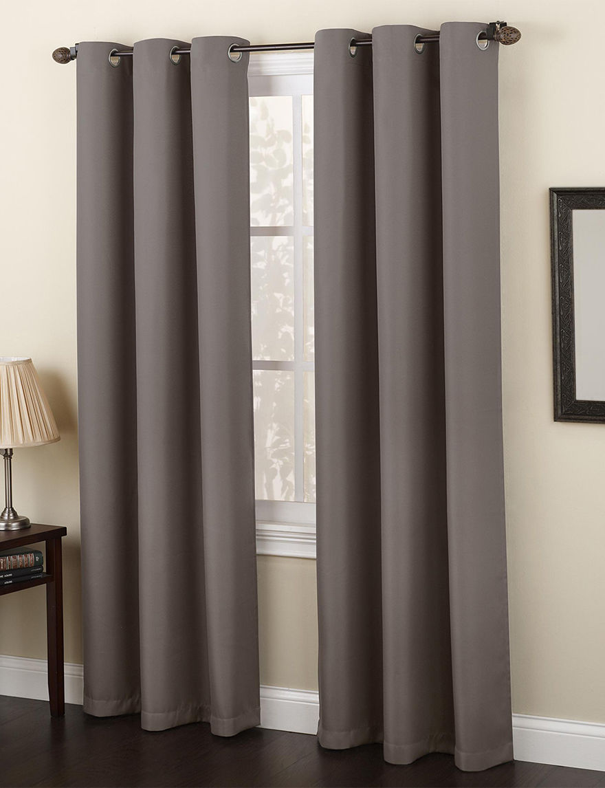 Lichtenberg Silver Curtains & Drapes Window Treatments