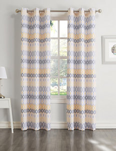 Lichtenberg Yellow Curtains & Drapes Window Treatments