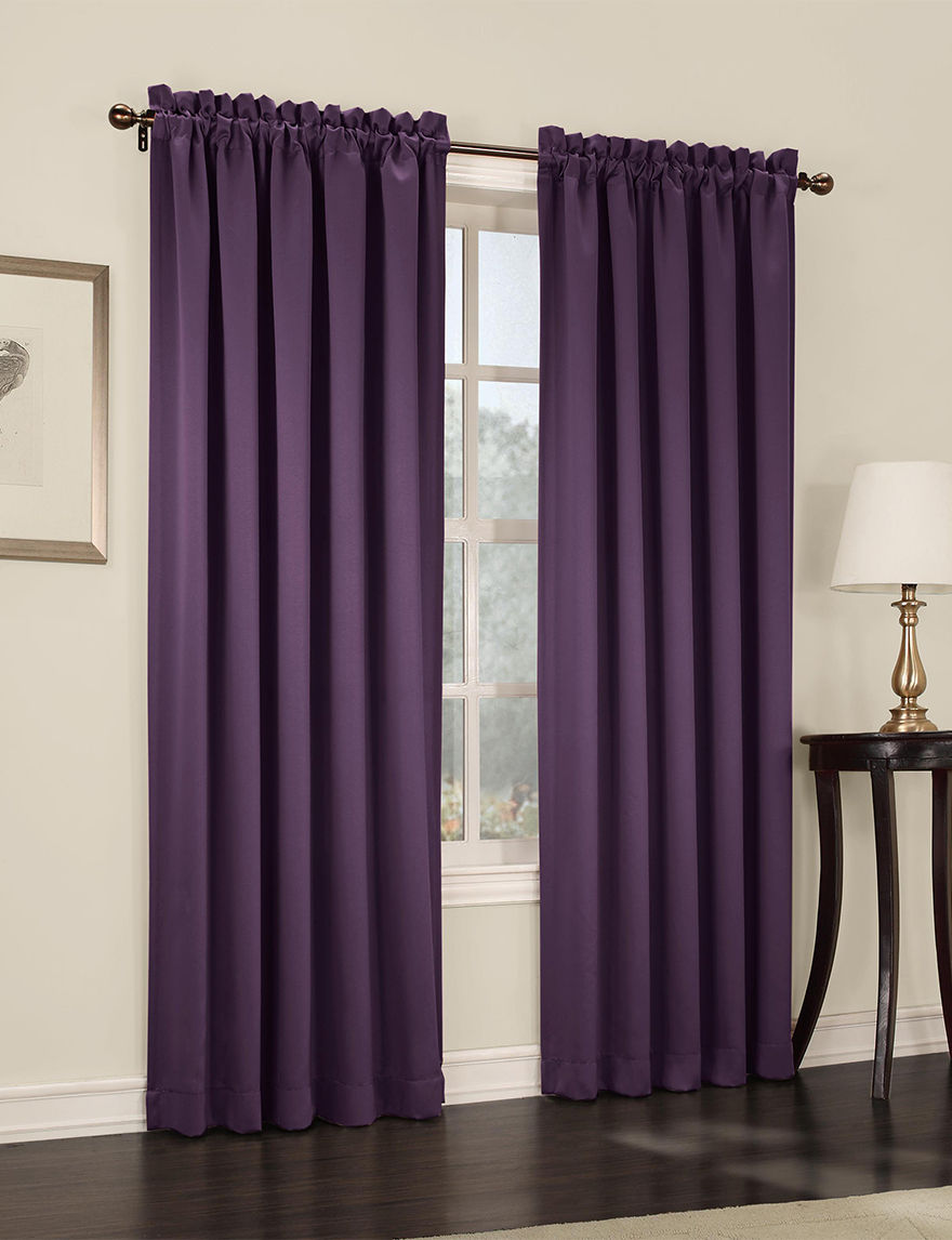 Lichtenberg Plum Curtains & Drapes Window Treatments