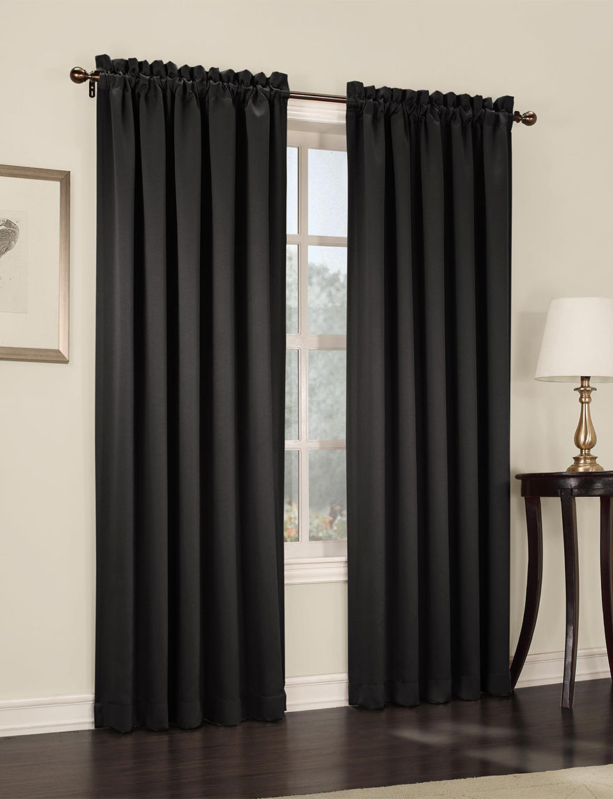 Lichtenberg Black Curtains & Drapes