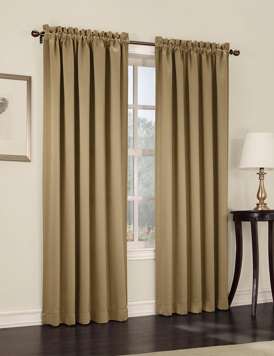 Lichtenberg Taupe Curtains & Drapes