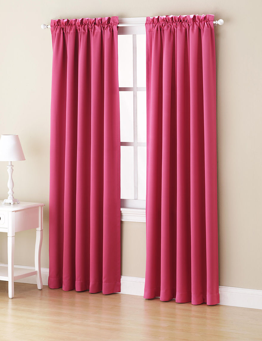 Lichtenberg Pink Curtains & Drapes Window Treatments