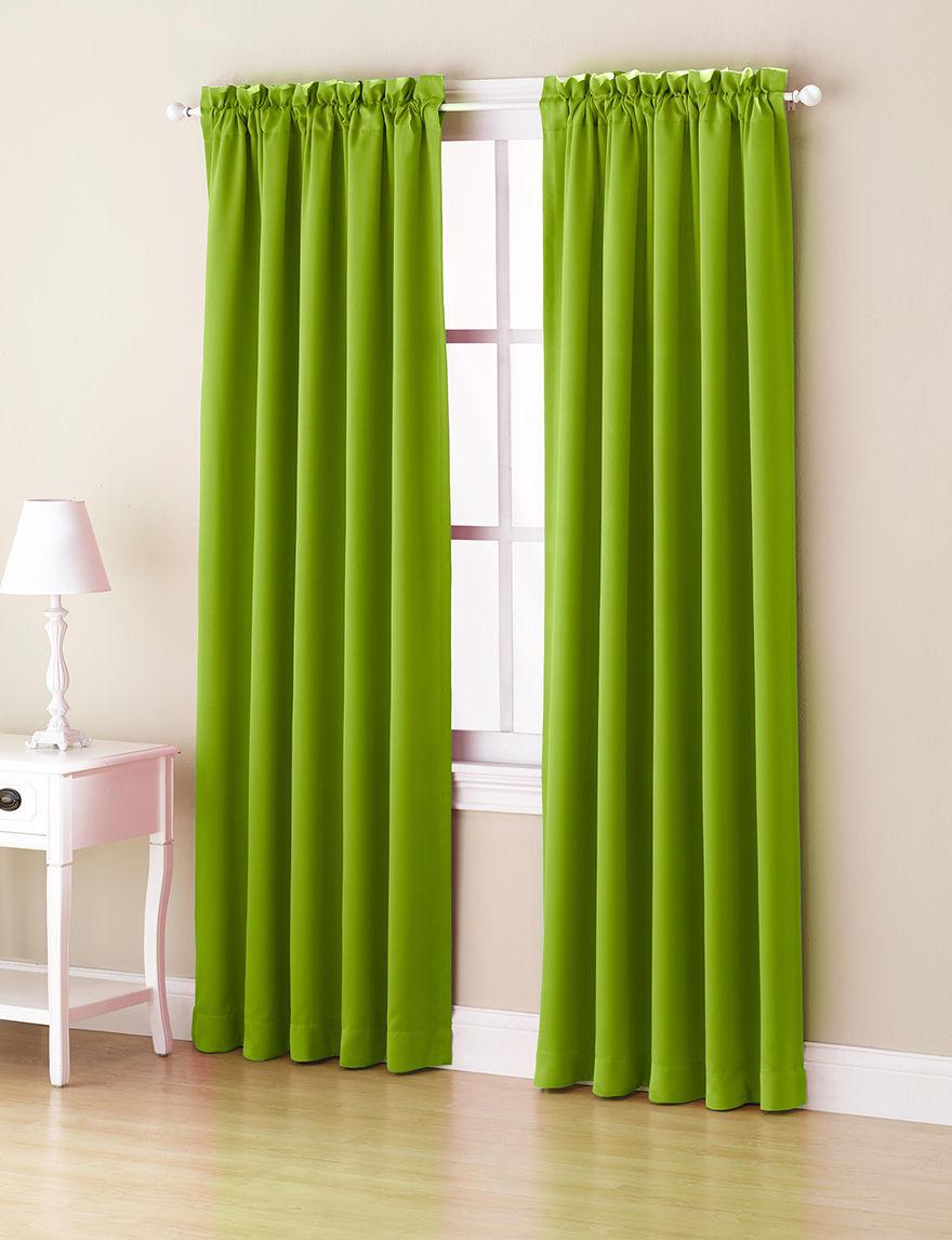 Lichtenberg Lime Curtains & Drapes