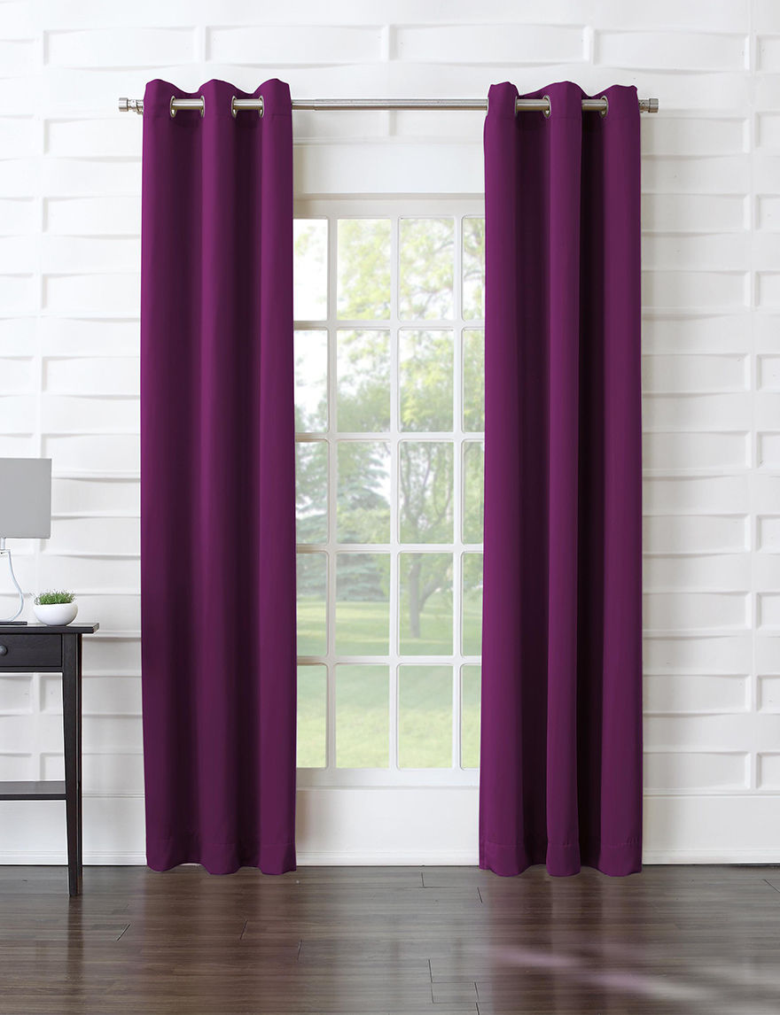 Lichtenberg Magenta Curtains & Drapes
