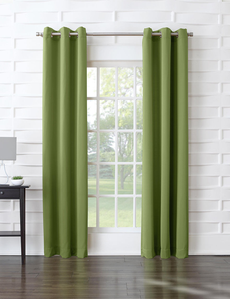 Lichtenberg Green Curtains & Drapes Window Treatments