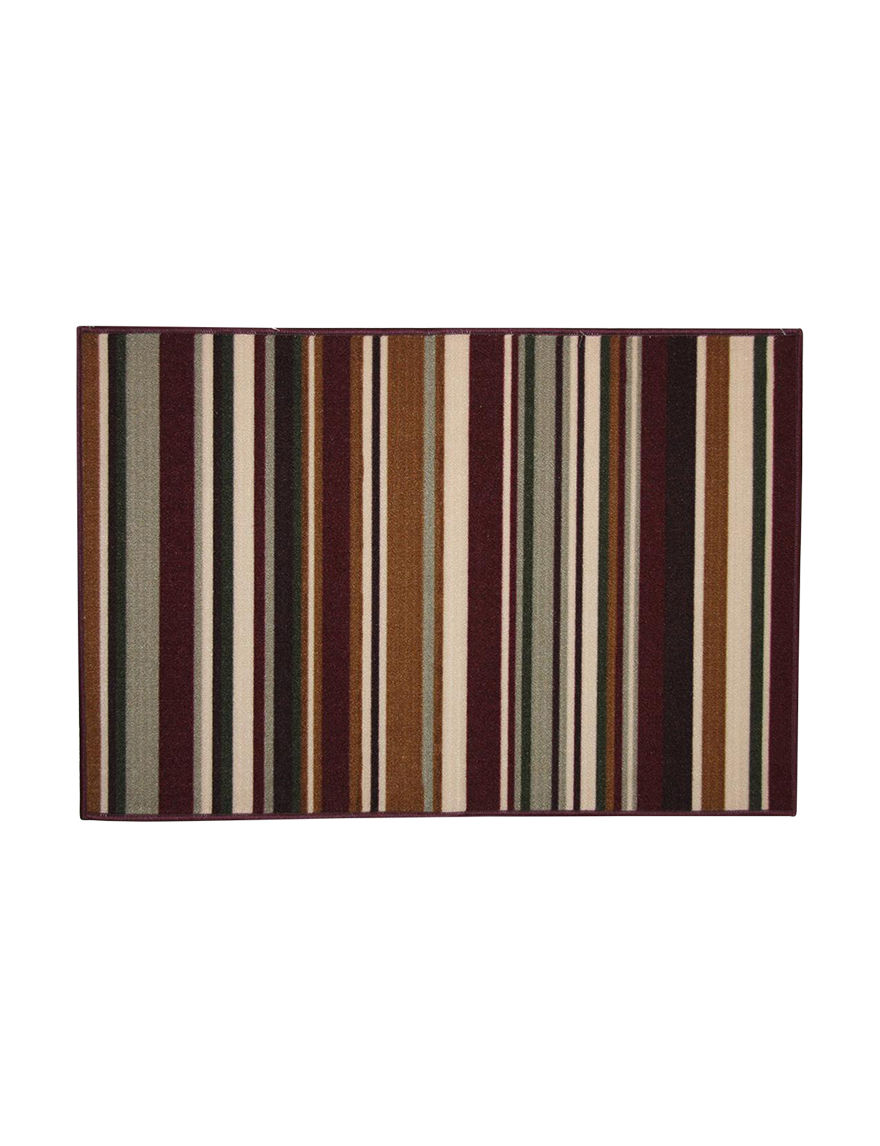 Bacova Guild Rust Accent Rugs Rugs