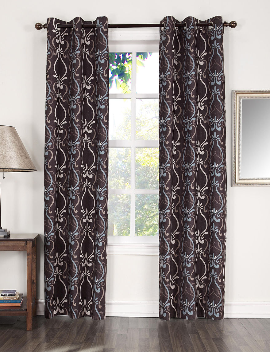 Lichtenberg Chocolate Curtains & Drapes