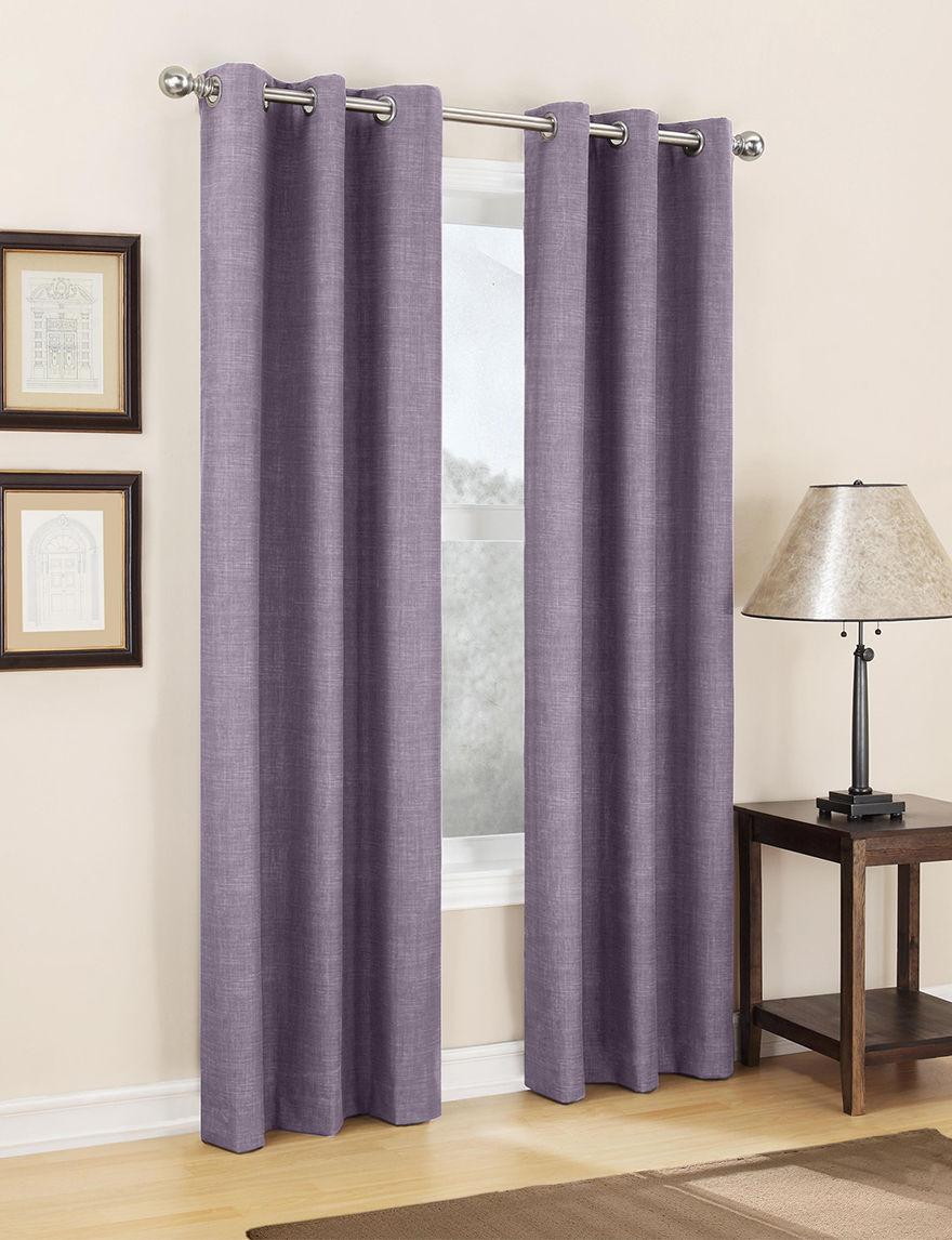 Lichtenberg Plum Curtains & Drapes