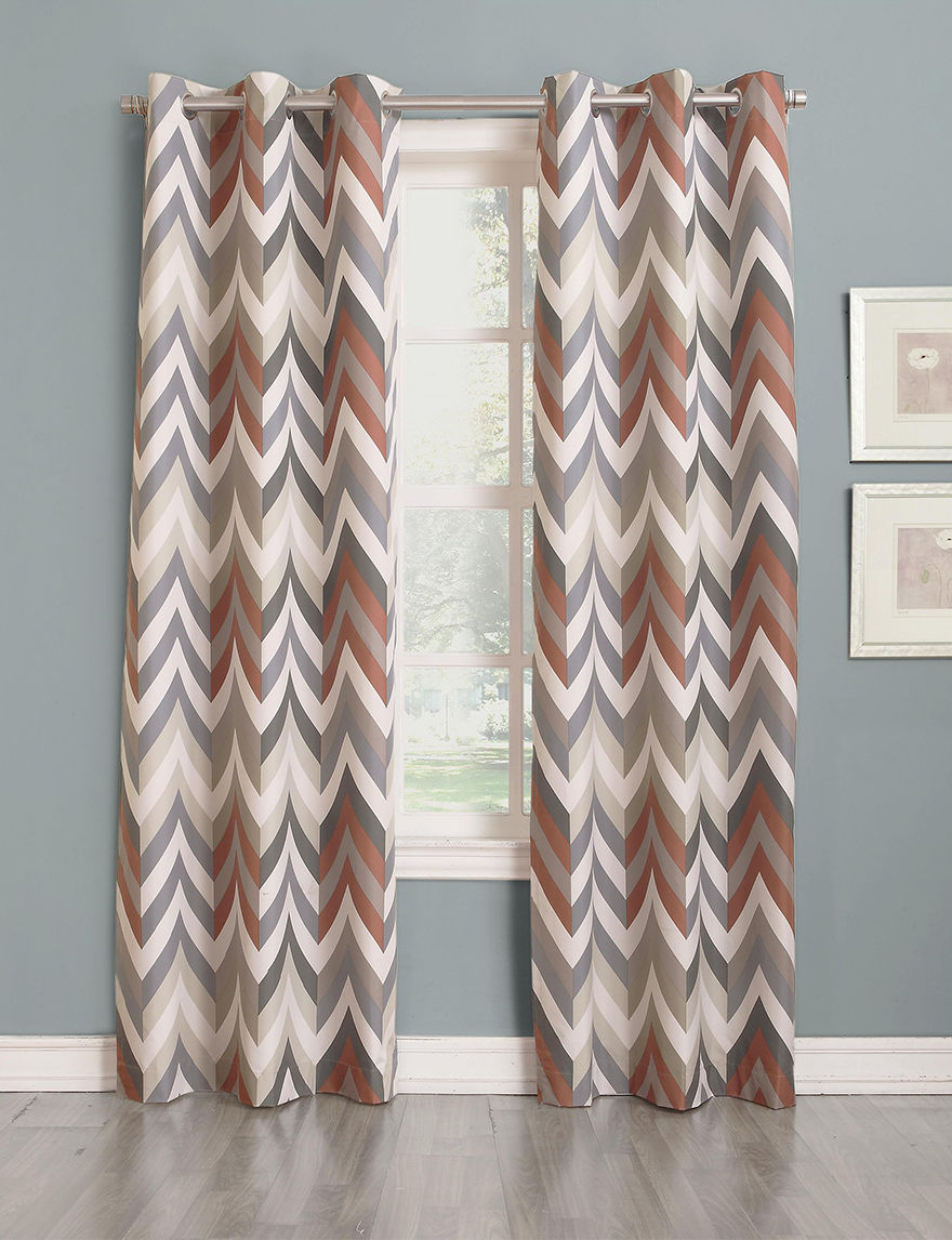 Lichtenberg Mocha Curtains & Drapes Window Treatments