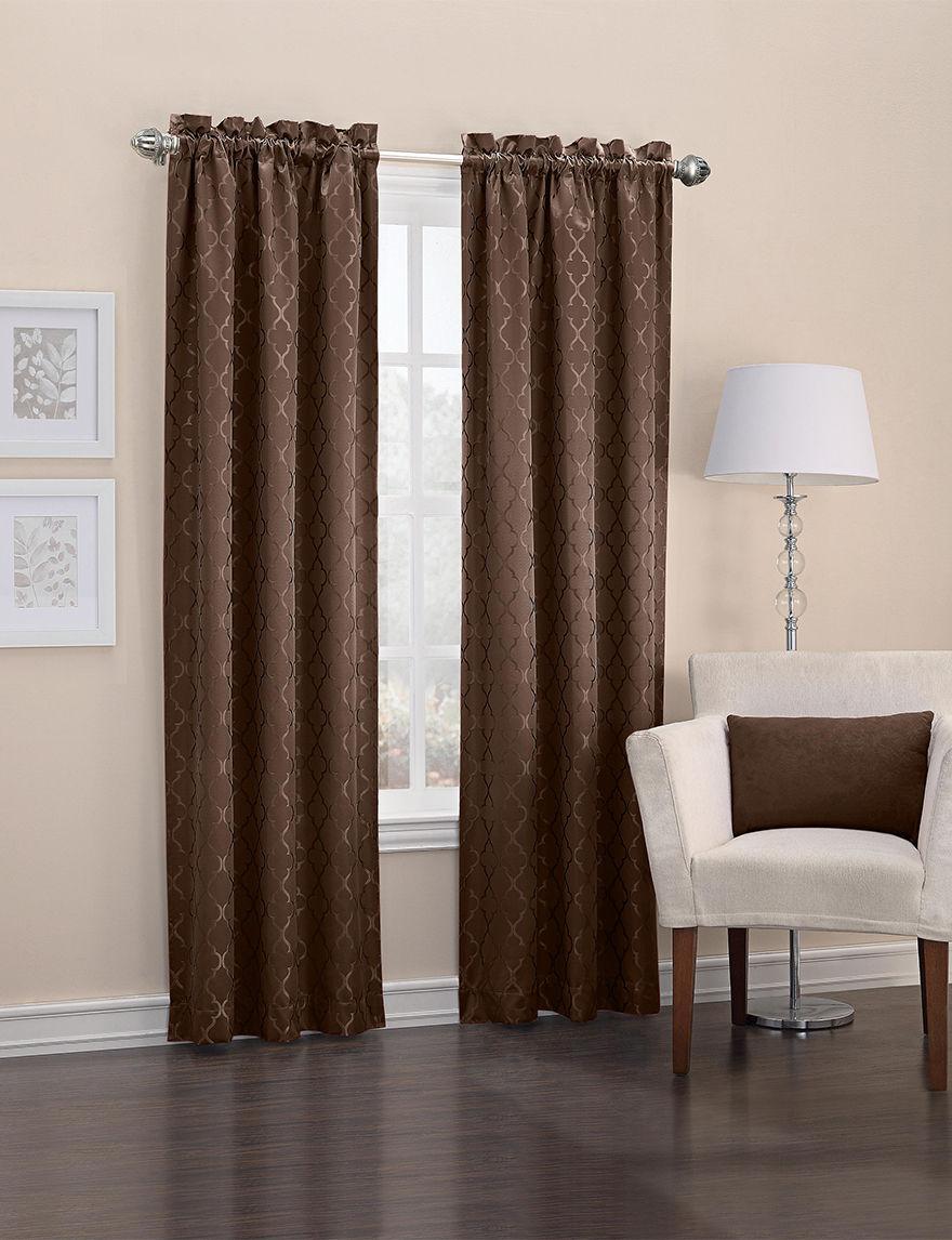 Lichtenberg Chocolate Curtains & Drapes