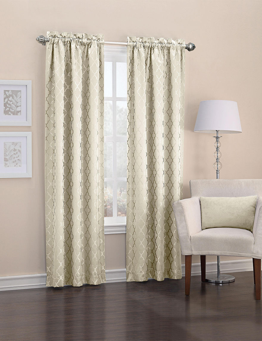 Lichtenberg Ivory Curtains & Drapes Window Treatments