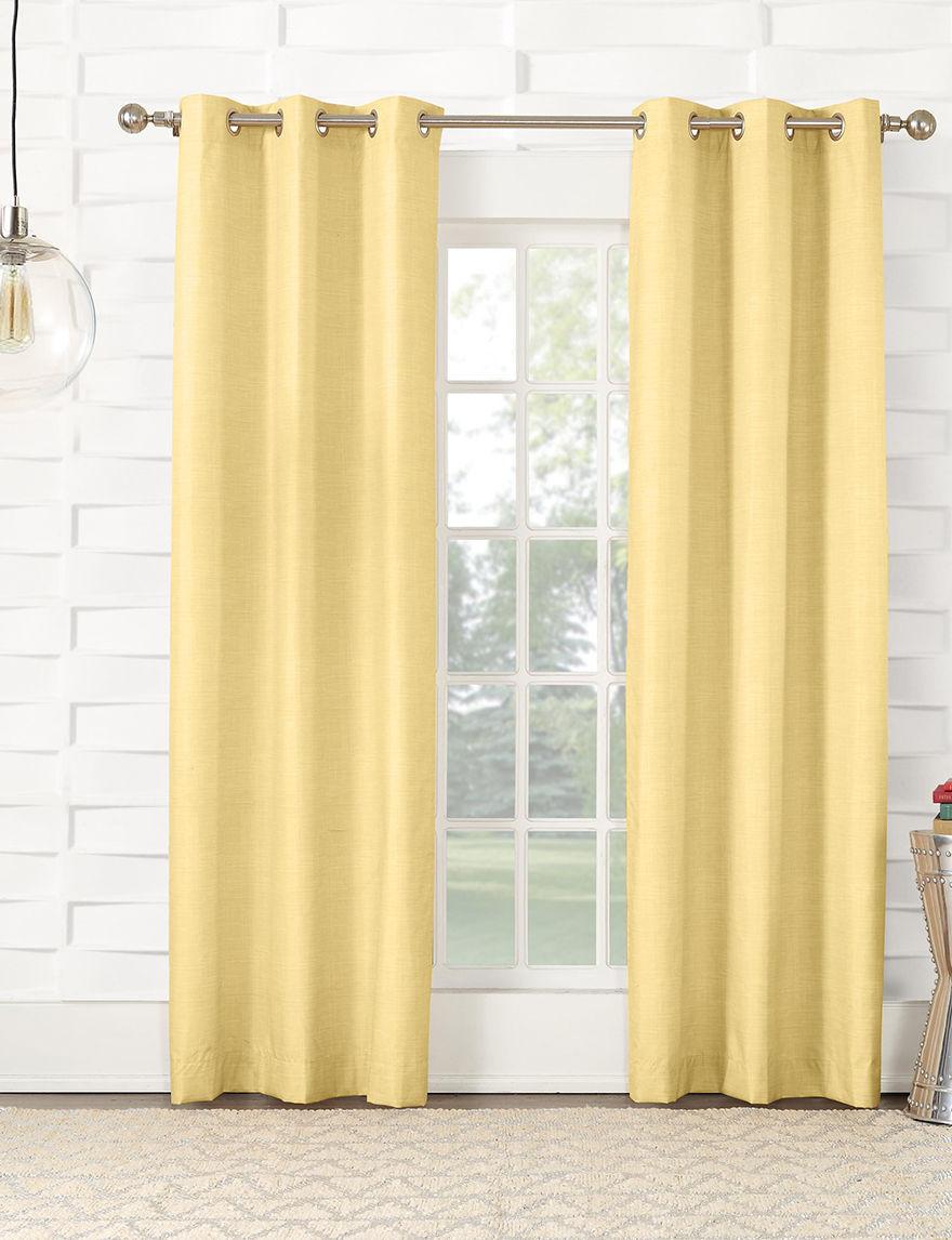 Lichtenberg Yellow Curtains & Drapes
