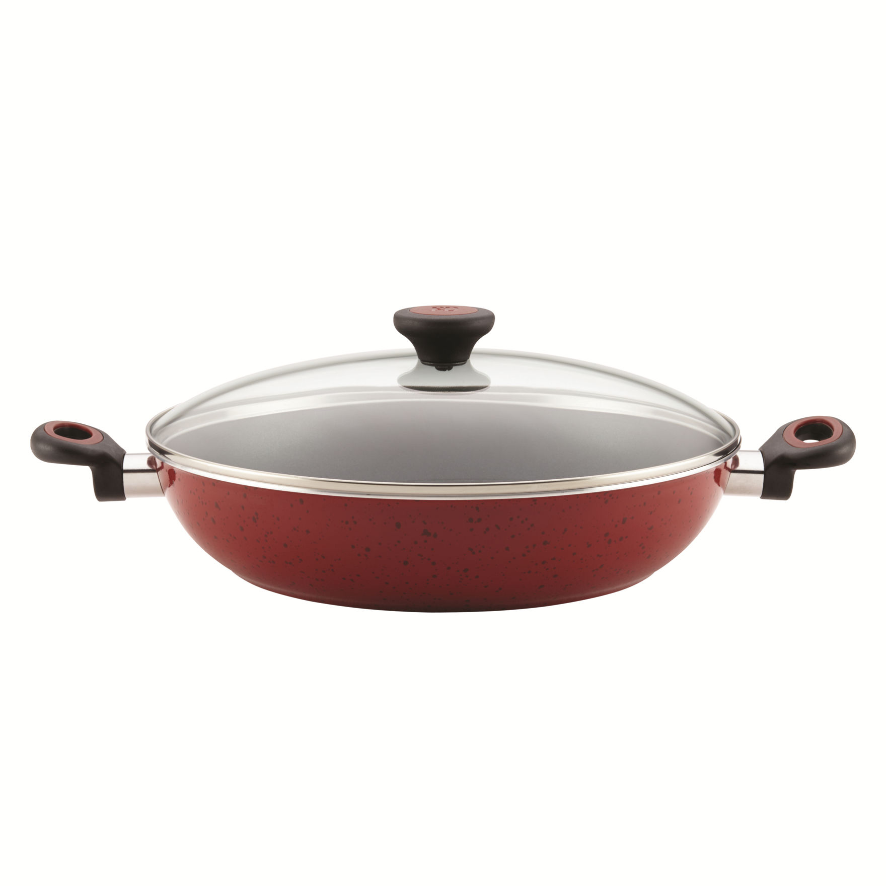 Paula Deen Red Frying Pans & Skillets Cookware