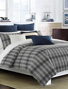 Nautica Peary Modern Plaid Print Reversible Comforter Set