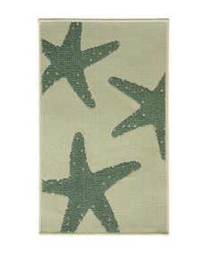 Bacova Guild Reliance Blue Star Fish Small Rug