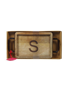 Home Essentials Wood Accessories Monogram