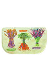 Bacova Guild Standsoft Mini Check Garden Fresh Slice Rug