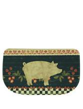 Bacova Guild Standsoft Mini Check Retro Pig Slice Rug