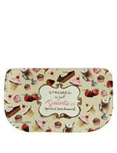 Bacova Guild Standsoft Mini Check Desserts Slice Rug