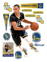 Fathead 13-pc. Stephen Curry Wall Decal