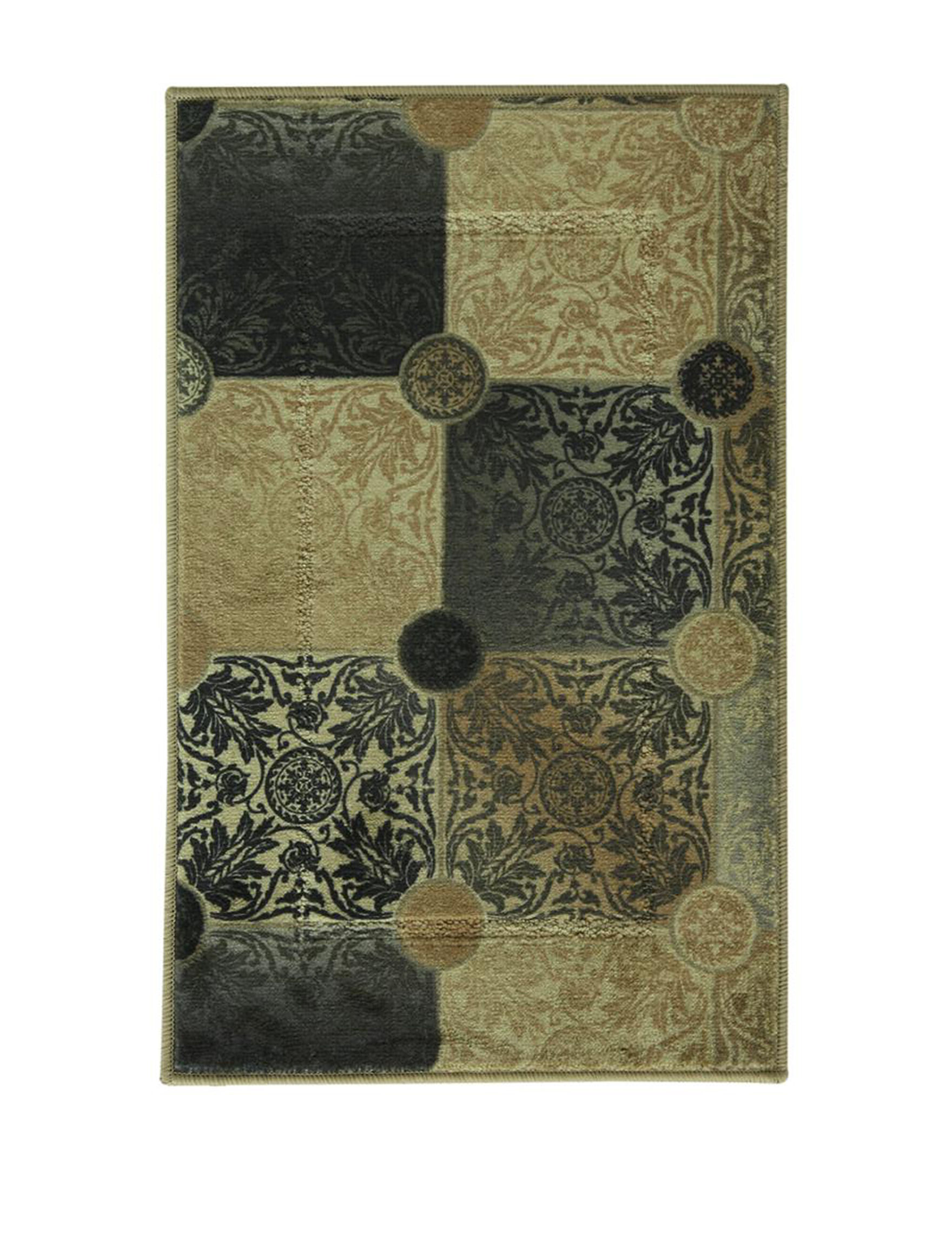 Bacova Guild Black Multi Rugs