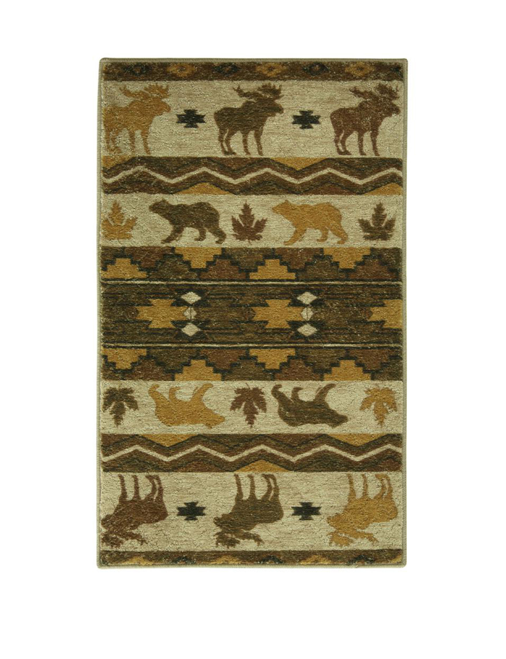 Bacova Guild Brown Rugs