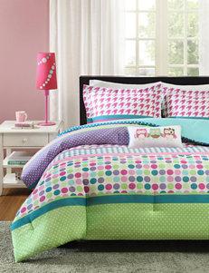 Mizone Katie 4-pc. Mixed Print Comforter Set