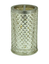 Jessica Simpson Antique Diamond Cut Toothbrush Holder