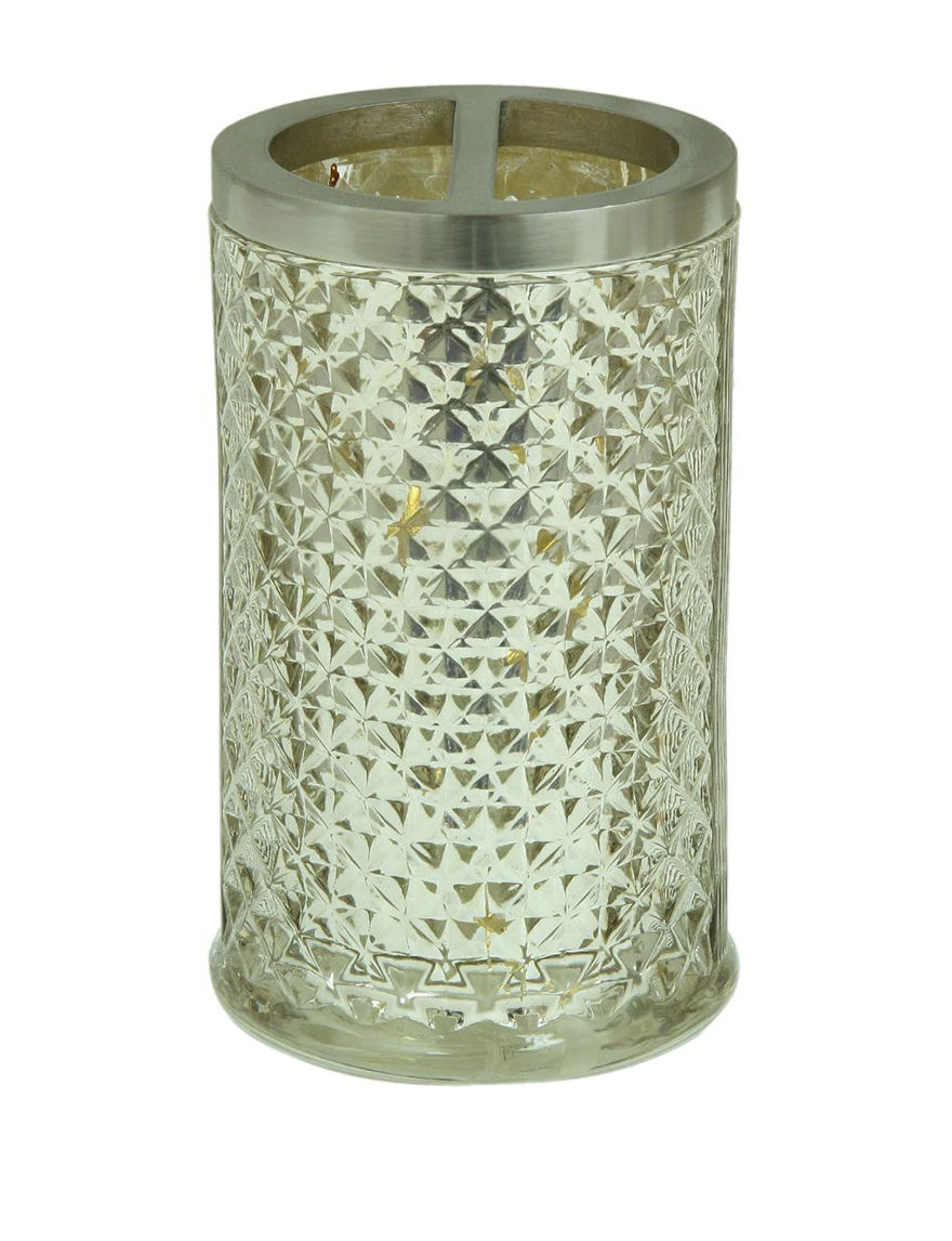 Jessica Simpson Clear Toothbrush Holders Bath Accessories
