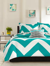 Mizone Libra 4-pc. Chevron Print Reversible Comforter Set