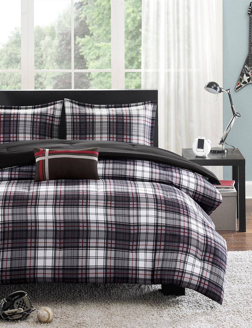 Mizone Black Comforters & Comforter Sets